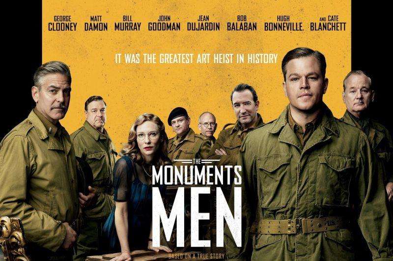"""""""MONUMENTS MEN"""", regia di George Clooney, USA, Germania, 2014"""