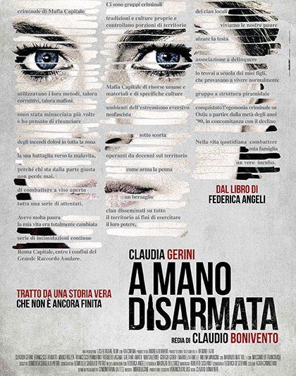 """""""A MANO DISARMATA"""", LA VERA STORIA DELLA GIORNALISTA FEDERICA ANGELI"""