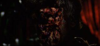 Michele Mirabella, con il suo volto sfigurato, torna come zombie