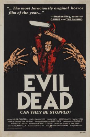 Evil dead La casa